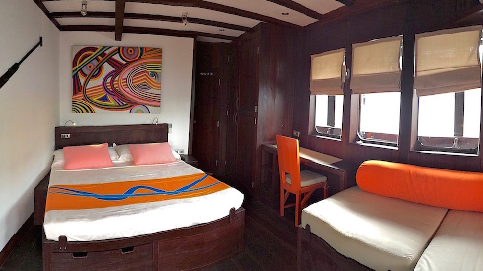 Gallery SUPERIOR Cabin IMG_3549 Croisière plongée WAOW en Indonésie 980x550