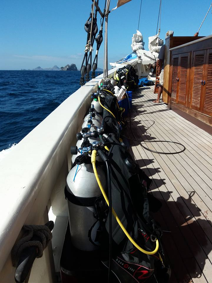 RajaLaut sail